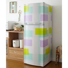 貼るだけで出来る♪冷蔵庫のお洒落なリメイク実例アイデア集!【15選】 | WEBOO[ウィーブー] おしゃれな大人のライフスタイルマガジン