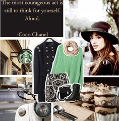 """think for yourself"" by myduza-and-koteczka on Polyvore"
