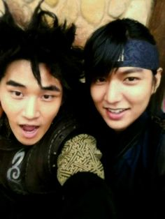Dae Man and Choi Young