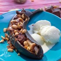 Reseptihaku | Pirkka / Grillatut suklaasuolapähkinäbanaanit My Cookbook, Healthy Baking, I Foods, Acai Bowl, Ice Cream, Pudding, Eat, Breakfast, Desserts