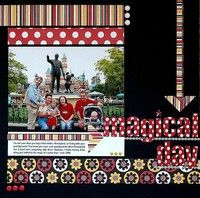 A Project by Ginger Williams from our Scrapbooking Gallery originally submitted 03/15/07 at 08:07 AM