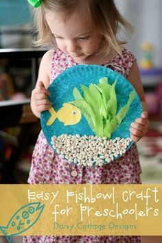 Under The Sea Kids Crafts ~ @Kathy Chan Chan Chan Chan Copley Caywood MOM! We should do this with the kids!