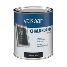 This chalkboard paint for the one playroom wall, and maybe even part of the mudroom area if we have lots of leftovers.