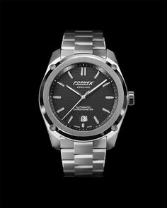"""Formex Swiss Watches on Instagram: """"Here it is... what do you think about the Essence's stainless steel bracelet? The hand-finished brushed surfaces and mirror-polished bevels…"""" Men's Watches, Watches For Men, Stainless Steel Bracelet, It Is Finished, Mirror, Bracelets, Instagram, Mirrors, Bracelet"""