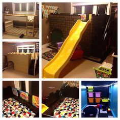 Themikeclarke And Thekerriclarke Hacked An IKEA KURA Bunkbed Into A Sliding Castle The