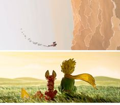 Trailer e imagens do filme Le Petit Prince | THECAB - The Concept Art Blog