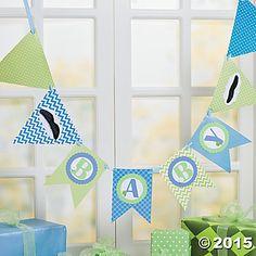Welcome Little Man! Banner Idea