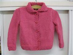 Chaqueta de lana para niñas de cinco años – La bufanda de lana Knitted Baby Clothes, Baby Patterns, Baby Knitting, Knit Crochet, Pullover, Sweaters, Amelia, Youtube, Fashion