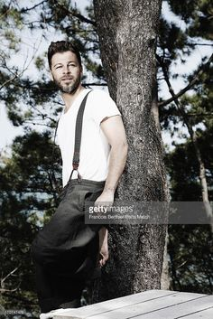 Singer Christophe Mae is photographed for Paris Match on June 2, 2013 in Arcachon, France.