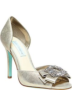435b243906c Betsy Johnson Shoes - Silver and Turquoise with bling Betsey Johnson Wedding  Shoes