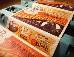 Rahal Farms Eggs Designed by Anderson Design Group | Country: United States