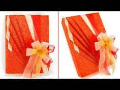 Easy Japanese Gift Wrapping-Come confezionare un regalo-Natale Fai da te - YouTube