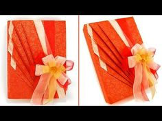 Easy Japanese Gift Wrapping-Come confezionare un regalo-Natale Fai da te - YouTube