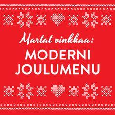 Moderni joulumenu