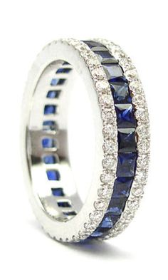 Beautiful Sapphire and Diamond ring  mmmm love this  anon out there send me one  thank you in advance