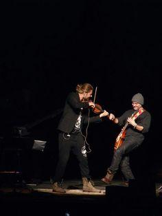 David Garret & Marcus Wolf in St. Louis, Missouri, January 2014.