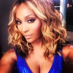 cynthia bailey #HairCrush perfect length even without the color