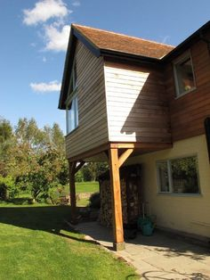 First Floor Stilted Extension http://www.mhad.co.uk/zenphoto/freens-ley-sutton-st-ncholas-hr1-3ay/house-june-2011.jpg.php