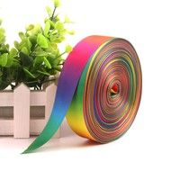 Width: 2.5cm ( 1 inch ) Length: 2m / 5m / 10m / 25m Material: Polyester  This ribbon is great to us
