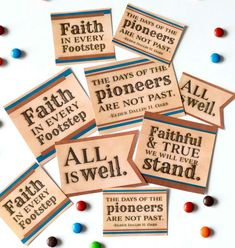 Use these free pioneer printable tags to help celebrate Pioneer Day & add fun to treats on trek.  + 7 simple ways to make pioneer stories powerful.#Pioneer #PioneerDay #Trek #LDSTrek #PioneerStory #ChurchofJesusChristofLatterdaySaints #teepeegirl Pioneer Trek, Pioneer Day, Printable Tags, Free Printables, Happiness Is A Choice, Connect The Dots, Wagon Wheel, Feeling Sad, Lds