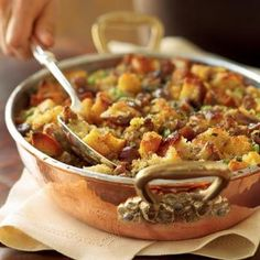Williams Sonoma Sausage, Chestnut and Fennel Dressing...This is my favorite stuffing!