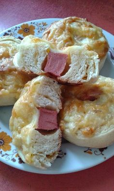 Sajtos - virslis csiga Croissant, French Toast, Breakfast, Pizza, Food, Bread Baking, Morning Coffee, Meal, Essen