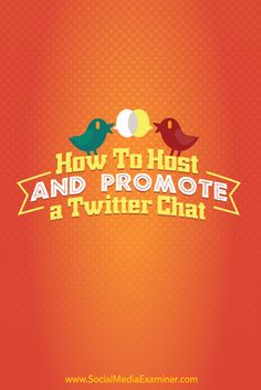 Twitter chats are a great way to connect with customers and prospects, build authority and gain exposure for your business.  In this article you'll discover how to prepare, promote and host a Twitter chat.