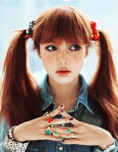 #japanese #girl #cute #kawaii #asian #gyaru