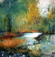 Stewart Edmondson at Dart Gallery, Dartmouth, Devon and Online Abstract Nature, Abstract Landscape Painting, Seascape Paintings, Watercolor Landscape, Landscape Art, Landscape Paintings, Watercolor Trees, Abstract Watercolor, Watercolor Paintings