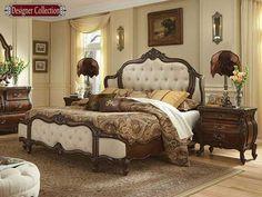 Caravelle Bedroom Warm Walnut