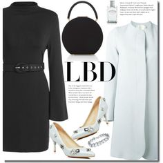 LBD formal by beebeely-look on Polyvore featuring Goat, BUwood, Prada, LittleBlackDress, LBD, classy, winterwedding and twinkledeals