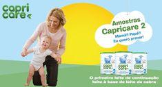 Amostras Grátis: Leite para bebé Capricare 2
