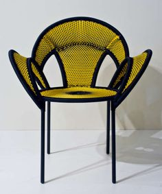 The Banjooli Chair by Sebastian Herkner is a Contemporary Take on Tradition trendhunter.com