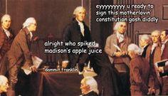 It's always Franklin.
