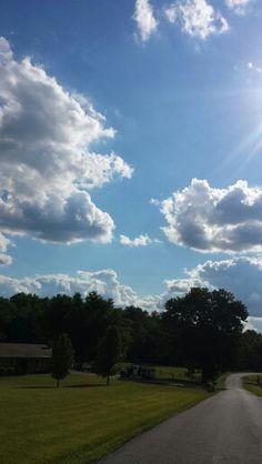 Kentucky Summer sky