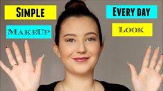 simple everyday makeup look makeup tutorial Simple Everyday Makeup, Everyday Make Up, Makeup Tutorials, Makeup Looks, How To Make, Easy Everyday Makeup, Make Up Tutorial, Make Up Looks