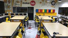 Maker Spaces son espacios creados por ROBOTShool que proporcionan las herramientas y materiales necesarios para que el alumnado cree y construya, desarrollando de este modo la creatividad. En el enlace aparecen más propuestas que ROBOTShool ha realizado a instituciones. Space, Environment, Proposals, Innovative Products, Spaces, Tools, Creativity, Floor Space