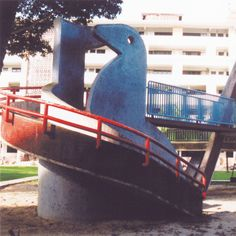 Singapore's old school HDB mosaic playgrounds- my favourite sandy playground :)