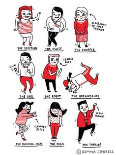 Dance Moves by gemma correll