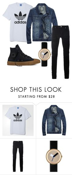 """""""liam sebastian"""" by pixie-bitez on Polyvore featuring adidas, Diesel Black Gold, Nomad, Converse, men's fashion and menswear"""
