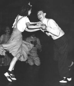 Be a 'bobby soxer' at a sock hop .....