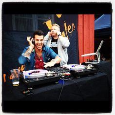 Takin' ova!! #dj #party #decks #instafun #stavernfestivalen @stavernfestivalen @trondme - @firasflash- #webstagram