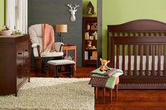Oh, deer! An adorable nursery for a boy or a girl.