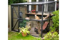 10 Amazing catios that'll make your cat love you forever: Outdoor living: cat style