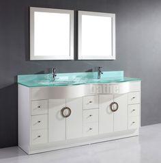 Beautiful White Bathroom Vanity Double Sink   Zoe 72 Inch Double Sink White Bathroom  Vanity Stone Countertop