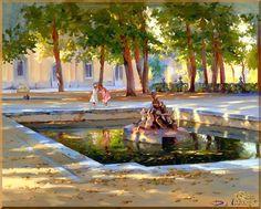 City - 281 Городской пейзах, картины, подарки