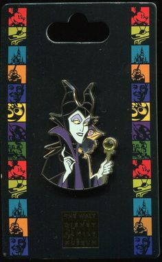 WDFM Walt Disney Family Museum Maleficent Diablo Disney Pin 86411