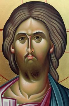 Byzantine Art, Byzantine Icons, Greek Icons, Roman Church, Jesus Face, Art Icon, Orthodox Icons, Christian Art, Religious Art