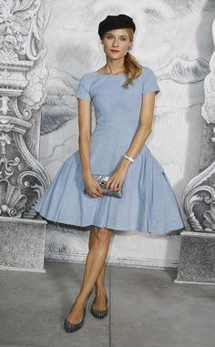 Diane Kruger: colección Crucero 2012-13 Chanel