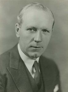 Angus Lewis Macdonald, PC, QC (August 10, 1890 – April 13, 1954), popularly known as 'Angus L.', was a Canadian lawyer, law professor and politician from Nova Scotia. He served as the Liberal premier of Nova Scotia from 1933 to 1940, when he became the federal minister of defence for naval services. He oversaw the creation of an effective Canadian navy and Allied convoy service during World War II. After the war, he returned to Nova Scotia to become premier again.